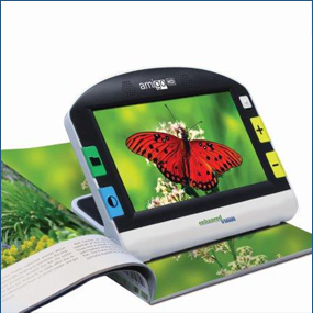 Portable Low Vision Electronic Magnifier