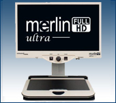 Merlin ultra - Full HD Desktop Electronic Magnifier