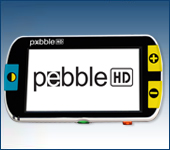Pebble – Hand Held Portable Electronic Magnifier